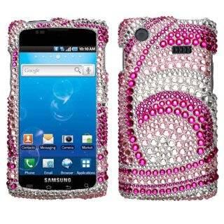 Samsung Captivate i897 (Galaxy S) Diamond Crystal Bling Protector Case