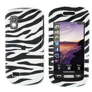 Premium   Samsung A887/Solstice Zebra Skin Cover   Faceplate   Case