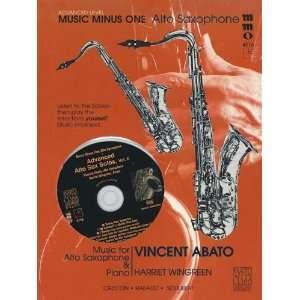 Advanced Alto Sax Solos   Volume 2 (Laureate Series
