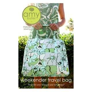 Travel Tote Bag Sewing Pattern amy_butler Arts, Crafts & Sewing