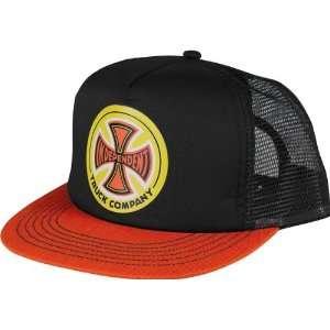 Independent Cc Truck Co Hat Adjustable Black Orange Skate Hats