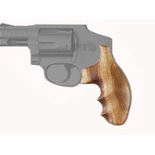 Hogue S&W J Frame Square Butt Goncalo Premium Wood Grips on PopScreen