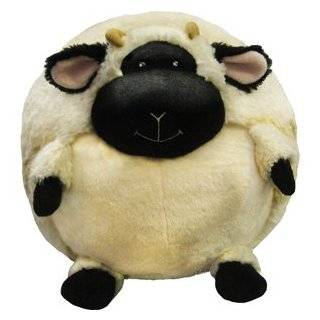 Large Plush Blue Lamb Stuffed Animal   Makes a Great Easter or New