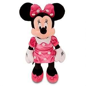 Disney Exclusive Large Minnie Mouse Plush Toy    27 H