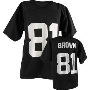 Tim Brown Logo Athletic Oakland Raiders Youth Jersey:
