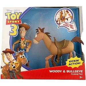 Disney Pixar Toy Story 3 Woody and Bullseye Roundup Pack Toys & Games