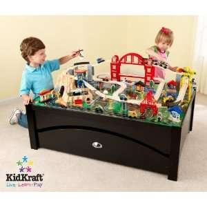 Metropolis Train Table and Set by KidKraft Home & Kitchen