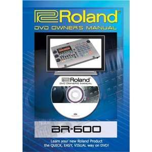 Roland (Boss) BR 600 DVD Video Training Tutorial Help Movies & TV