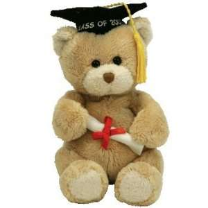 TY Beanie Babies Scholar   2007 Graduation Bear with
