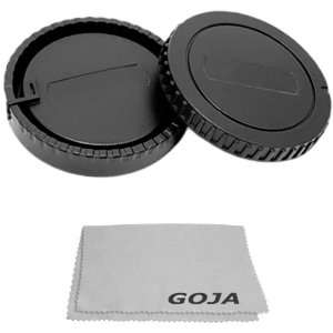 With Ultra Fine Microfiber Cleaning Cloth GOJA Logo Camera & Photo