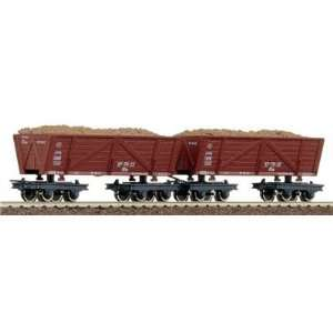 Roco 34515 Side Tip Hopper Wagons (2) Toys & Games