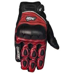 JOE ROCKET KAWASAKI ZX GLOVES RED XL Automotive