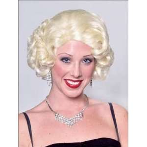 Monroe Costume Wig by Characters Line Wigs  Toys & Games