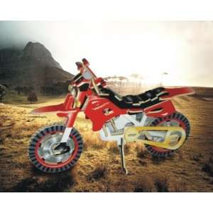 Puzzled Dirt Bike Illuminated 3D Puzzle Toys & Games