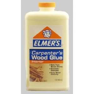 12 each ElmerS Carpenters Wood Glue (E 704)