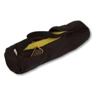 EverythingYoga Cotton Yoga Mat Bag   Extra Large, Black