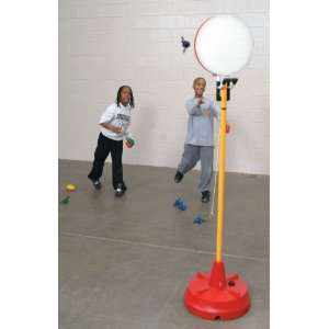 Sportime 105315971 Big Red Base PoleBall Target System Complete with
