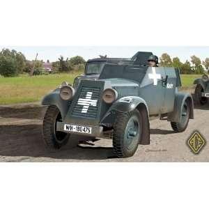 Ace 1/72 Kfz 13 Light Armored Car Kit  Toys & Games