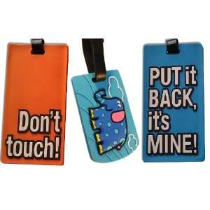 Luggage Tags Travel Bag New ID Set Baggage Funny Label
