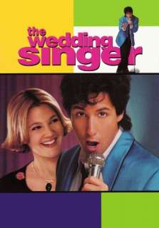 The Wedding Singer Adam Sandler, Drew Barrymore