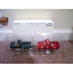 Road Champs THEN and NOW FORD TRUCKS 2 pack Diecast Set