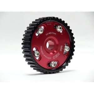 OBX Red Adjustable Cam Gear   92 96 Honda Prelude S 2.2L