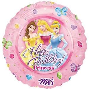 18 Foil Disney Princess Happy Birthday Balloon 1 per