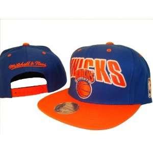 Blue & Orange New York Knicks Adjustable Snap Back Baseball Cap Hat
