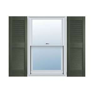Choice Vinyl Open Louver Window Shutters, w/Shutter Home Improvement