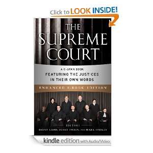 The Supreme Court (Enhanced EB) A C SPAN Book Featuring the Justices