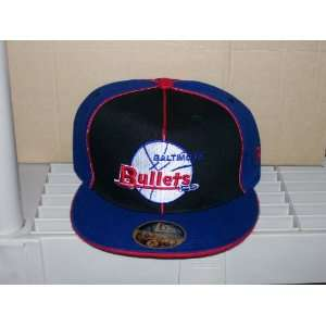 Baltimore Bullets Retro New Era Fitted cap hat Sz 7 1/4   8 Avalible