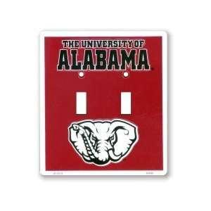 2 Alabama Crimson Tide Double Light Switch Plates Kitchen