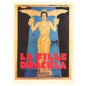 Draculas Daughter Movie Poster, 11 x 15 (1936)