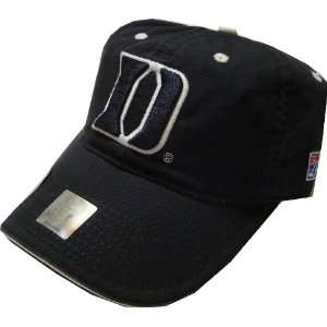 Duke Blue Devils Navy Fitted Hat by The Game Sports