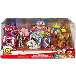 Disney / Pixar Toy Story 3 Exclusive 10 Piece Deluxe Action Figure Set