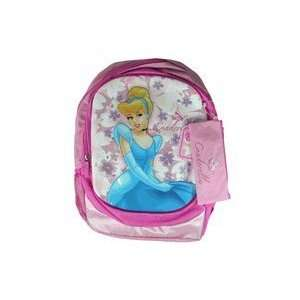 Disney Princess Cinderella Backpack w/ Pencil pouch  Toys & Games