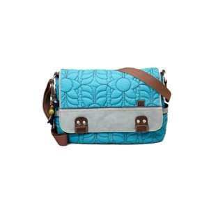 Fossil Key Per Messenger Turquoise Handbag Everything