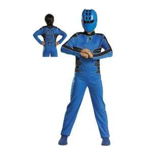 Power Rangers Costume Jungle Fury Blue Boy   Small : Toys & Games