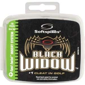 Softspikes Black Widow Fast Twist Golf Spikes Kit Sports
