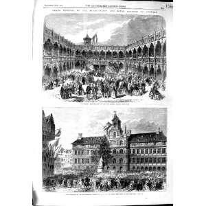 1864 GRAND FESTIVAL MUNICIPLATY ROYAL ACADEMY ARTS