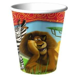 Madagascar Escape 2 Africa 9 oz. Paper Cups (8 count)  Toys & Games