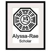 Alyssa Rae Scholar Framed Print