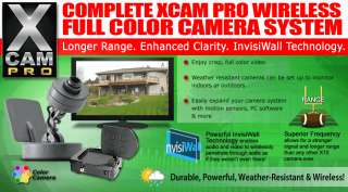 Product Name X10 XCam PRO Wireless COLOR Camera System XX30A + VR47A