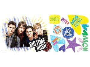 Newegg   Big Time Rush Peel & Stick Giant Wall Decal