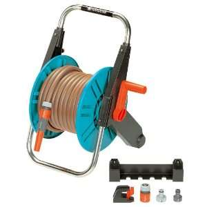 Foot Garden Hose Reel With 66 Foot 1/2 Inch Hose Patio, Lawn & Garden