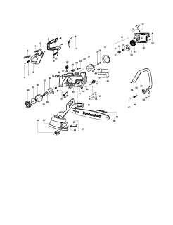 POULAN Chain saw Shield/cylinder/crankshaf  Parts  Model