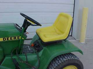 John Deere mower seat 200,208,210,212,214,216 More