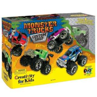Monster Truck Custom Shop Activity  ThePartyWorks