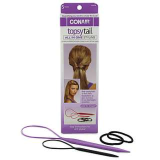 Conair Topsy Tail 5 PC Kit  Folica