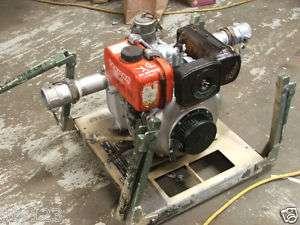 DIESEL POWERED TRASH WATER PUMP MODEL 1258